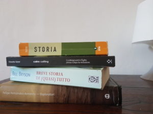 My (unread) Italian book collection