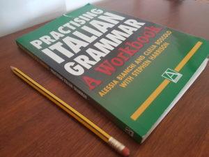 My Italian grammar book